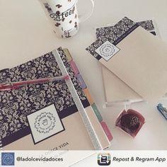 Assim a terça-feira fica até mais gostosa! www.paperview.com.br #meudailyplanner #notepad #dailyplanner #blocodenotas #brigadeiro
