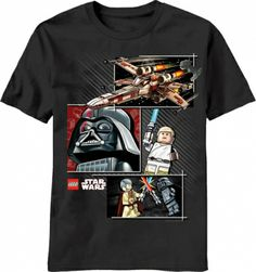 Lego Star Wars Kids T Shirts only $16.95 at #kiditude