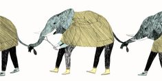 Amelie Fontaine. elephants Illustrations Posters, Cartoon Styles, Graphic Illustration, Paint Designs, Art, Life Art, Animal Illustration, Creative Art, Illustration Print
