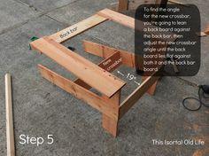 adirondack step 51 730x547 DIY Adirondack chairs