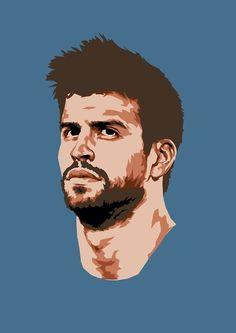 Football Art, Football Players, World Cup Draw, Fcb Barcelona, Trill Art, Sketches Of People, Sport Craft, Joker Art, Portrait Sketches