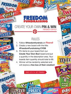 Enter to win a FREE CASE OF CANDY!