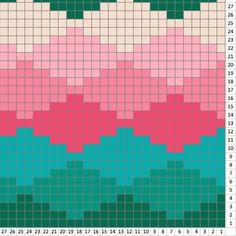 C2c Crochet Blanket, Crochet Baby, Pixel Art Animals, Cross Stitch Embroidery, Cross Stitch Patterns, Knitting Charts, Knitting Patterns, Corner To Corner Crochet Pattern, Tapestry Crochet Patterns