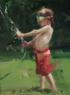 David Shevlino: Oil on Myler.