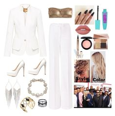 """""""The barbershop: the next cut premiere"""" by creative-with-fashion ❤ liked on Polyvore featuring Ted Baker, J.Crew, Diane Von Furstenberg, Charlotte Russe, Jules Smith, Marchesa, Rebecca Minkoff, Lime Crime, MAC Cosmetics and LASplash"""