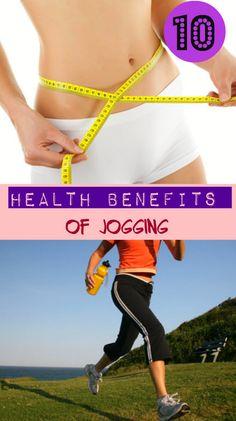 10 Health Benefits of Jogging