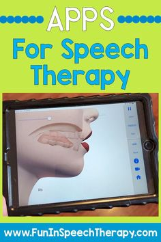 The Best Apps for Speech Therapy