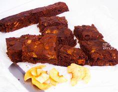 7gramas de ternura: Brownies de Dois Chocolates e Crocante de Maçã Ver...