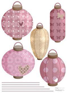 Lampions japonais Lilipinso