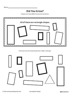 match the shapes worksheets and activities. Black Bedroom Furniture Sets. Home Design Ideas