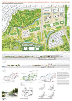 In the international design competition for Yenikapı Transfer Point and Archaeo-Park Area in Istanbul, Turkey, three First Prizes have been announced this week. The jury selected the top project teams ...