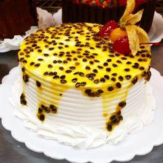 Torta de Maracujá #confeitariapolos #goiania  (em Polos Pães e Doces)