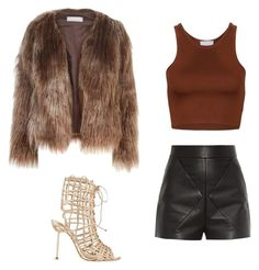 """""""Untitled #17"""" by ariatsapaki on Polyvore featuring Balenciaga, Sophia Webster and Related"""