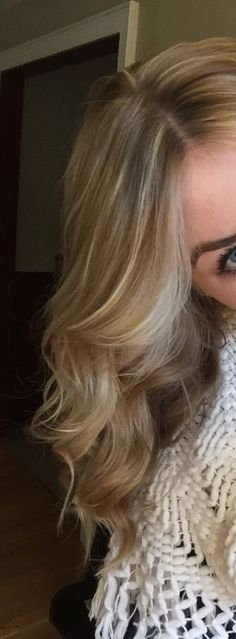 Dirty blonde with highlights #blonde #hair #highlights