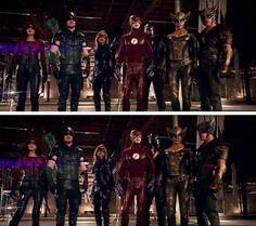 *Squad Goals* #Arrow #4x08 #Flarrow #ArrowxFlash