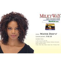 Milky Way Que Short Cut Series Water Deep 3pcs Kit For Hair Extensions At Www Halifaxhair