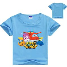Z&Y Boys Tshirt Short Sleeve Super Wings Summer Tops Girls Tshirt Kids Teen Toddler Baby Boys Summer Casual Nova 7186 online shopping mall, buying fashion dresses & rapid delivery. Start your amazing deals with big discounts! Top Tee, Girls Tracksuit, Kids Clothes Boys, Summer Boy, Kids Shorts, Baby Girl Dresses, Boys Shirts, Kids Outfits, Baby Boys