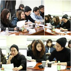 """""""Cunning Single Lady"""" First Script Reading + Stills Of Sweet, Young Lovers Lee Min Jung & Joo Sang Wook 