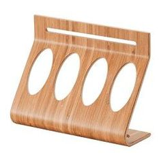 RIMFORSA, Holder for containers, bamboo