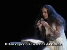 MARIA BETHANIA - MONÓLOGO DE ORFEU - Tom Jobim e Vinícius de Moraes