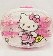 Mommy, I'm hungry...  Take the lunch food with this cute Hello Kitty Lunch Box Set. It have a set of box with separator for your food, 1 spoon and 1 fork. let have fun with your meal time... Check it out at www.kawaiishoppu,com. Register and Get a Gift Coupon from Kawaii.