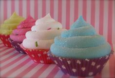 Fake Cupcake Candy Land Polka Dot Collection by 12LegsCuriosities