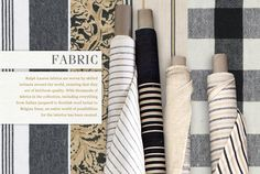Ralph Lauren LEFT BANK Fabric Collection Spring 2013  www.PacificHeightsPlace.com