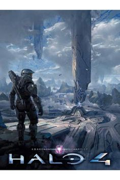 The Art of Halo 4 book. This is one of my favorite games. I love how 343 put so much detail into every set piece. It's like a Hollywood blockbuster in game form.