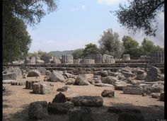 Temple of Zeus at Olympia, Greece