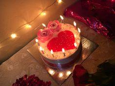 My frnd engagement decor. Happy Birthday Chocolate Cake, Happy Birthday Cake Images, Happy Birthday Wishes Quotes, Happy Birthday Celebration, 18th Birthday Cake, Birthday Cupcakes, Chocolate Cupcakes Decoration, Birthday Decorations At Home, Cake Story