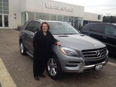 Another satisfied customer takes delivery on her Mercedes-Benz all wheel drive SUV. Mercedes Benz Ml350, Motor, Delivery, News