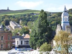 Darwen Town Centre, taken from the Old Chapel Mill Town Big Ben, Old Things, England, Building, Places, Travel, Viajes, Buildings, Destinations