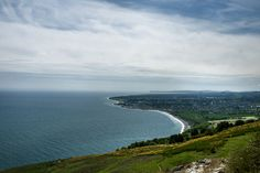 View from Bray Head, Ireland