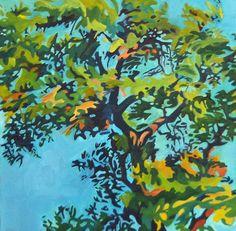 Live Oak Leaves Fine Art Original Oil by EvelynMcCPetersArt, $500.00
