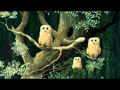 Owl Babies - Picture Book Animation..... Ahhh what a nice little story! ♥