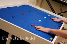 DIY Lego (and Train) Table