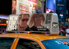 ATELIER eyewear 2014 Ad Campaign