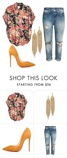 """Untitled #709"" by zeniboo ❤ liked on Polyvore featuring Capwell + Co and Christian Louboutin"