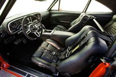Camaro Experts Build Coolest Car Ever: A 1969 Dodge Charger! Dodge Charger Interior, Dodge Charger Hemi, Vintage Air, Limited Slip Differential, Mopar, Cadillac, Cool Cars, Hot Rods, Autos
