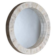 Would like this in another finish! Driftwood Round Mirror SA790070