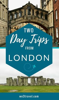 Two day trips from London that are great for families - London travel tips and ideas - Stonehenge and Oxford day trips. Europe Destinations, Europe Travel Tips, European Vacation, European Travel, Dubai, Day Trips From London, International Travel Tips, Ireland Travel, Scotland Travel