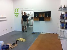 Setting up the Carpinteria Store and Warehouse