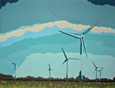 Wind Turbines by pagechase