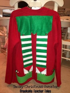 DIY Tacky Christmas Sweater  Creekside Teacher ...