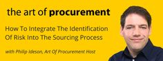 Great podcast all about procurement. - The Art of #Procurement