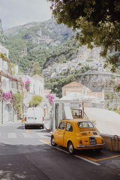 The windy Positano streets.