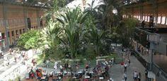 Clubs In Madrid –La Vieja Estacion. Outdoor club!