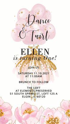 Electronic Invite Lemon Bridal Shower Video Evite Animated Invitation Pink Bridal Shower Video Invitation