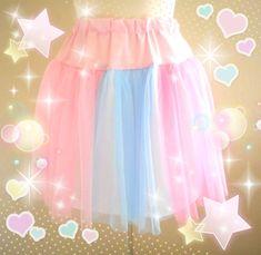 7c52605c30bbd Magical Fairy Kei Skirt ✨ Made to order ☆ Kawaii