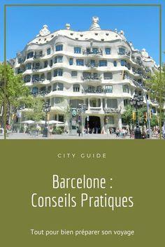 City Guide de #Barcelone (Espagne) avec des conseils pratiques pour bien préparer son voyage. Où dormir ? Comment se déplacer ? Que visiter ? Jolies Curiosités - Blog Français de Green Lifestyle